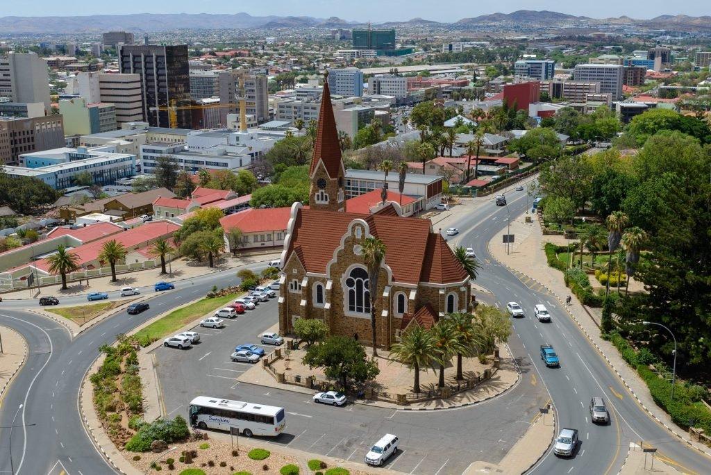 виндхук, столица намибии